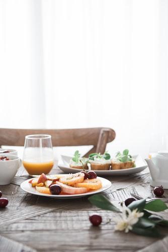 朝食はしっかり食べる